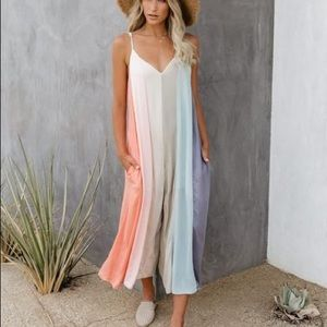 By Together Color block Jumpsuit